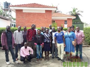 Group photo after the training session for the Enumerators and field supervisors held in Arua District