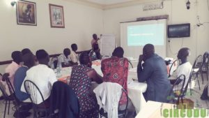 Training session for the Enumerators and field supervisors for the Northern region held in Arua
